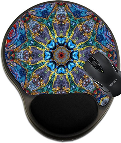 MSD Mousepad Wrist Protected Mouse Pads/Mat with Wrist Support Mosaic Image 7156605 Customized Tablemats Stain Resistance Collector Kit Kitchen Table Top DeskDrink Customized Stain Resistance Collect