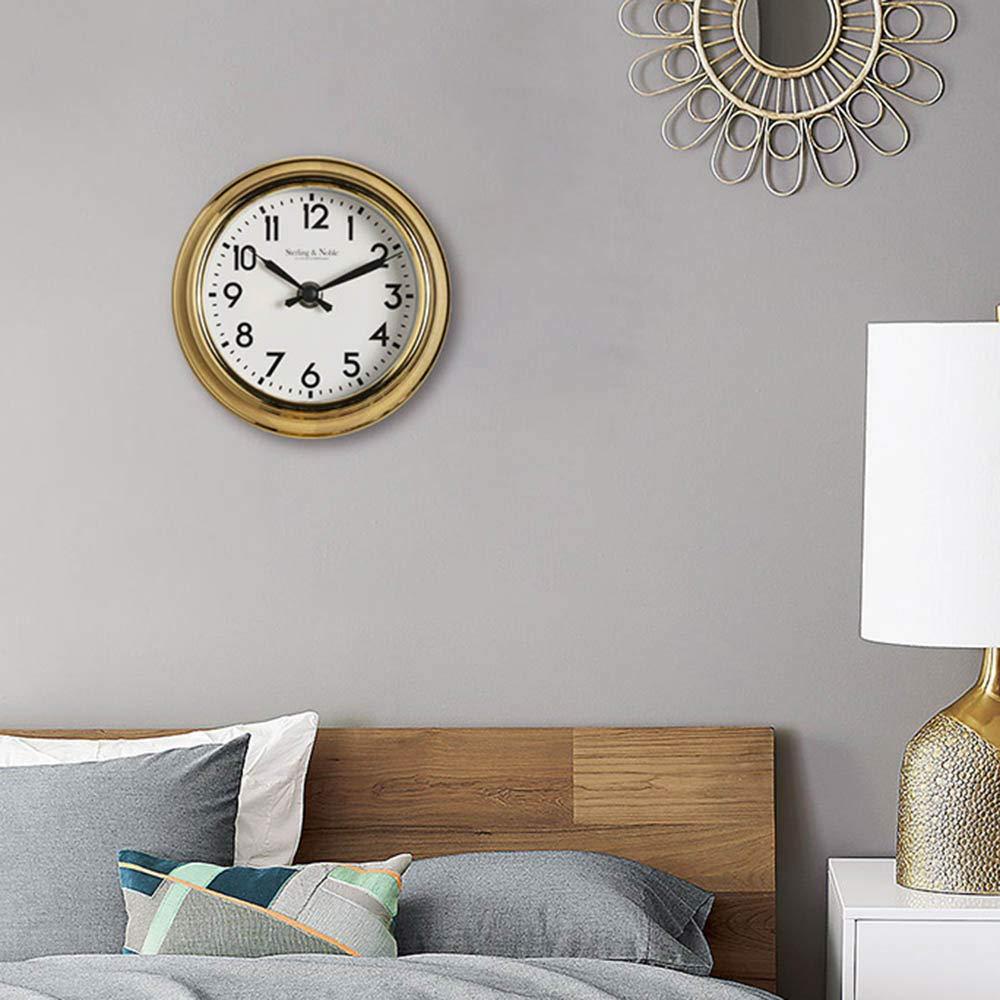 Mantle//Desk Clock European Living Room Creative Desk Decoration Mute Clock