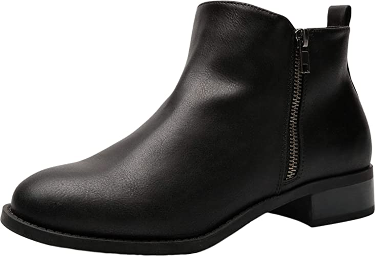Luoika Women's Wide Width Ankle Boots