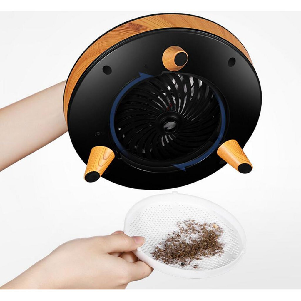 JIANFCR JIANFCR JIANFCR USB de carga Inicio inteligente de control de iluminación inteligente Mosquito trampa mosquito fotocatalizador Led mosca trampa Mosquito lámpara (Color   Blanco) 2bec60