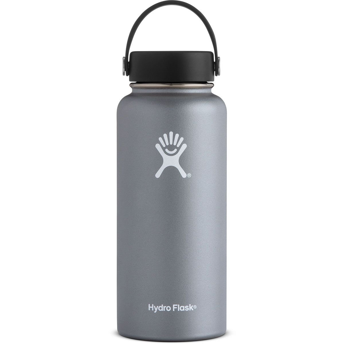 Amazon com hydro flask 32 oz double wall vacuum insulated stainless steel leak proof sports water bottle wide mouth with bpa free flex cap