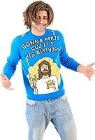Gonna Parti Cuz Il est son anniversaire Jésus adulte Bleu de Ugly Pull de Noël