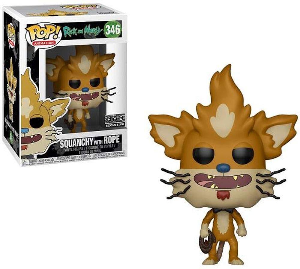 Amazon.com: Funko Rope Squanchy Figura Rick & Morty ...