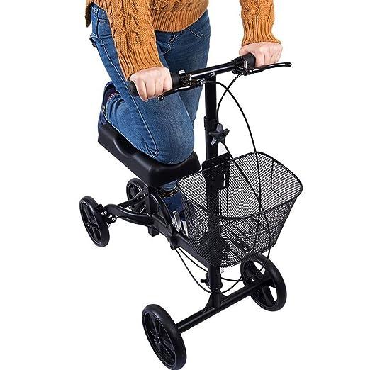 Andadores para discapacidad Rodilla Caminadora con Volante ...