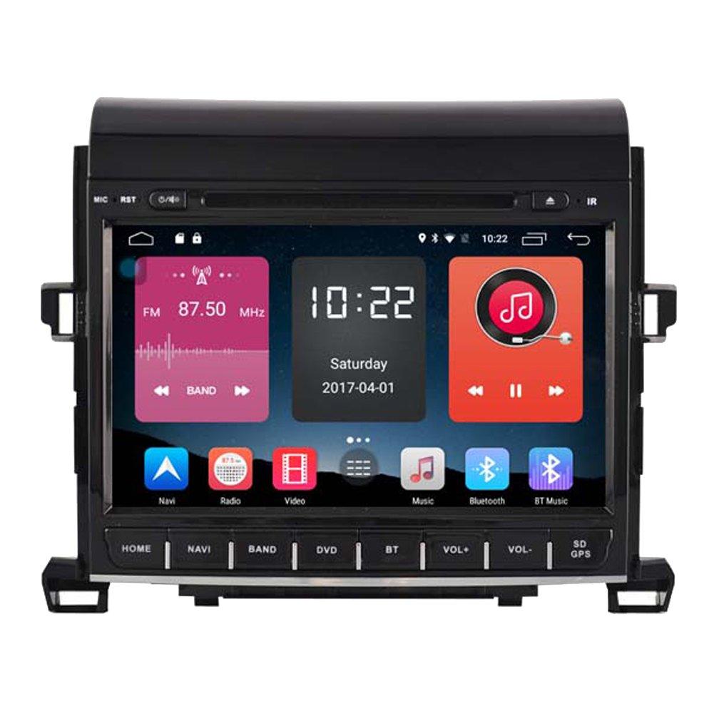 autosion in Dash Android 6.0車DVDプレーヤーSAT NAVラジオヘッドユニットGPSナビゲーションステレオfor Toyota Alphard 2009 2010 2011 2012 2013 2014 4 g LTE TPMSサポートBluetooth SD USBラジオOBD Wifi DVR 1080p B07877FQZM