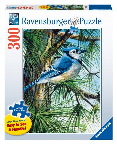 Blue Jay Jigsaw Puzzle, Large Format, 300-Piece