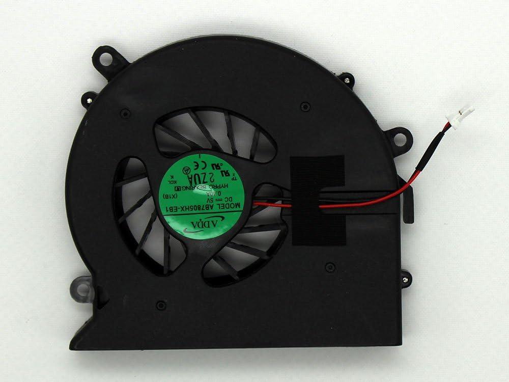 Ventilador de CPU de Repuesto para HP Pavilion DV7-3190EO DV7-3190ES DV7-3190EV DV7-3190EY DV7-3197EO DV7-3198EO DV7-3199EO DV7-3199SB iiFix
