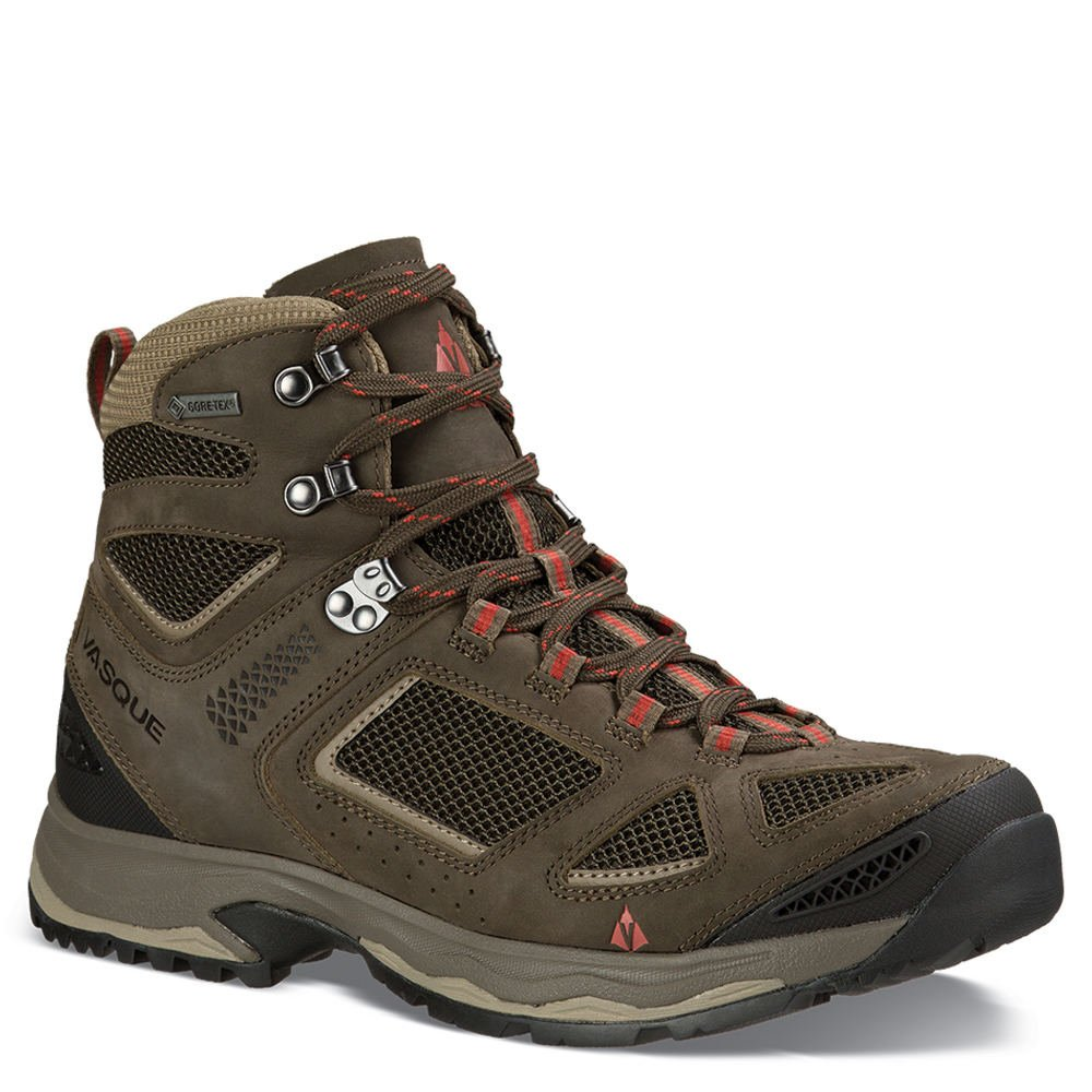 Vasque Menƒ_Ts Breeze III GTX Hiking Boots, Black Olive B01F5JZQVS 8.5 M US|Brown Olive / Bungee Cord