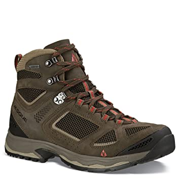 Vasque Mens Breeze Iii Hiking Boot Gtx Brownolive Medium 7 07190