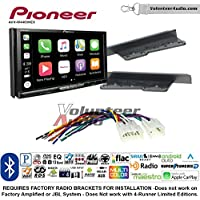 Volunteer Audio Pioneer AVH-W4400NEX Double Din Radio Install Kit with Wireless Apple CarPlay, Android Auto, Bluetooth Fits 2003-2009 Toyota 4Runner, 2003-2006 Tundra (Without JBL system)
