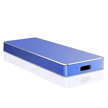 Disco Duro Externo 2 TB, Disco Duro Externo USB3.1 Type C para PC ...