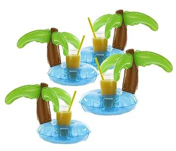 Kinderbadespaß Getränkehalter Palme Pool Party