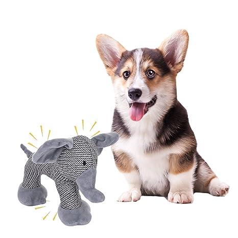 Juguete de peluche con forma de animal para mascota, para perros y gatos pequeños y