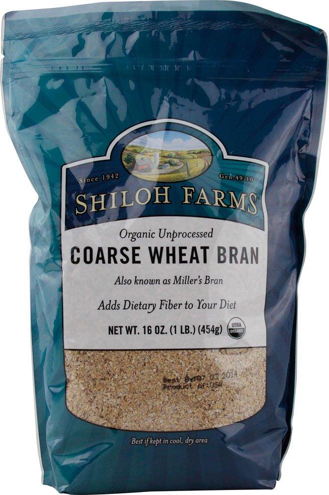 Shiloh Farms: Course Wheat Bran 32 Oz (12 Pack)