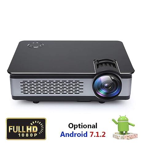 YTBLF Proyector Full HD 1080P, proyector de Cine en casa con ...
