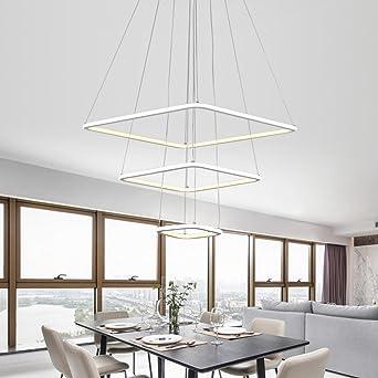 U-Enjoy Araña Moderno 3 Luces Led Living Comedor Luminaria ...