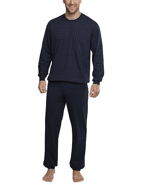 Bündchen, Conjuntos de Pijama para Hombre, Azul (Dunkelblau