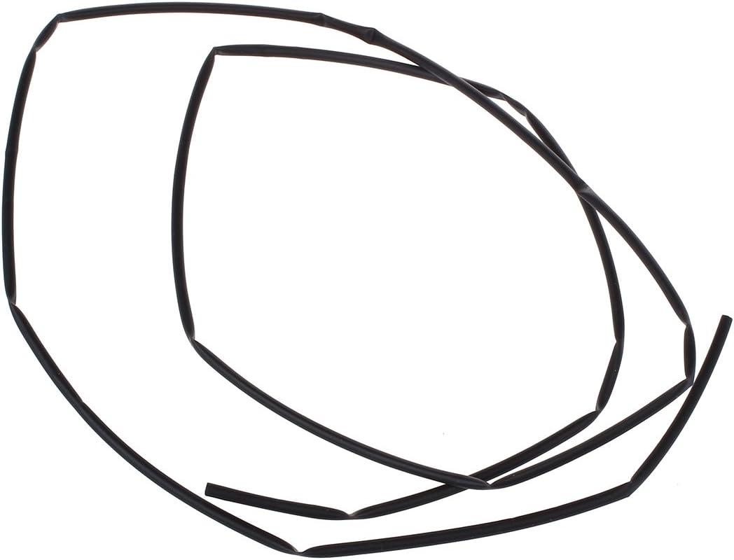 Moligh doll 2 mm schwarz Schrumpfschlauch Schrumpfschlaeuche 1M