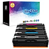 INK E-SALE Replacement for HP 201X CF400X CF401X CF402X CF403X CF400A Toner Cartridge for use with HP Color LaserJet Pro MFP M277dw, M252dw, MFP M277n, M252n, High Yield 4 Pack