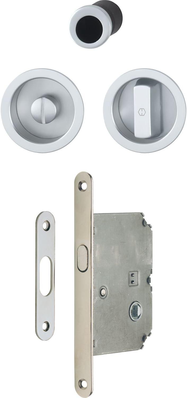 HOPPE 3948032 Uñero para puerta corredera, cromo satinado: Amazon ...