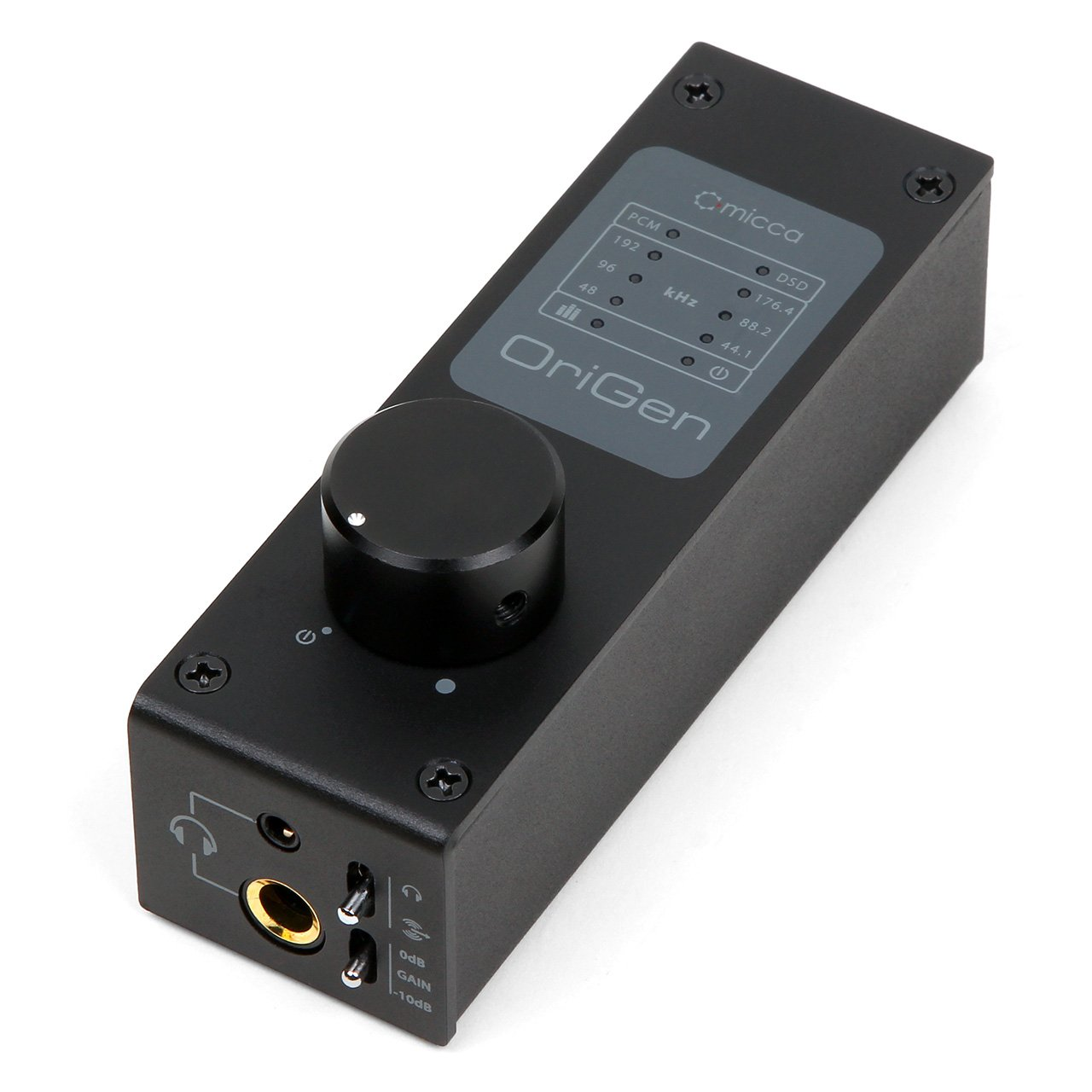 Micca OriGen+ High Resolution USB DAC and Preamplifier - 24-Bit/192kHz PCM and 64x DSD