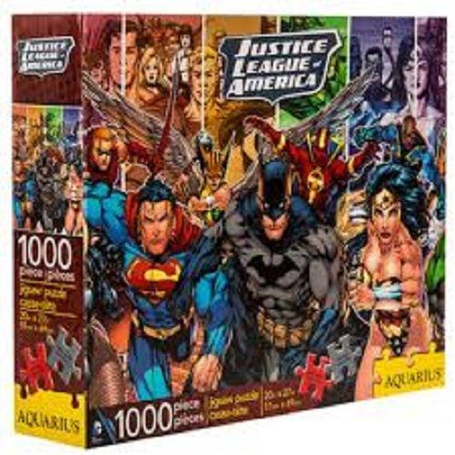 Justice Puzzle (Justice League of America (1000 Piece) Puzzle by Aquarius)