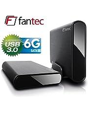 """Fantec DB-ALU3-6G 3TB 3.5"""" Nero"""