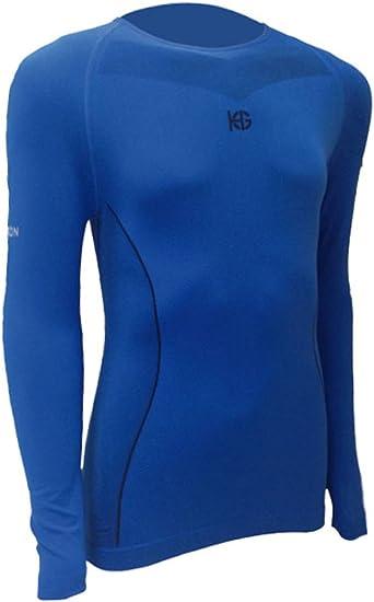 SportHG HG-Coal Camiseta térmica con Fibra de Carbono, Hombre, Azul Noche/Negro, XL: Amazon.es: Ropa y accesorios