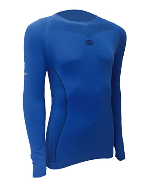 SportHG HG-Coal Camiseta térmica con Fibra de Carbono ...
