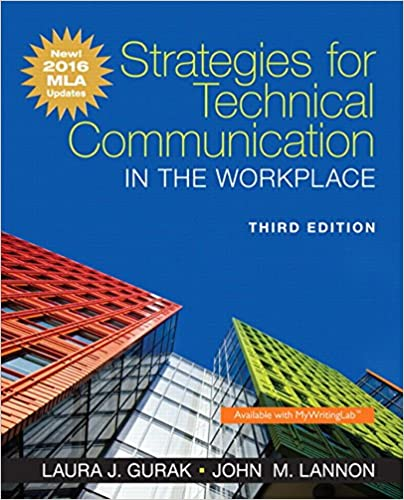 Strategies For Technical Communication In The Workplace, MLA Update Edition (3rd Edition) Download.zip