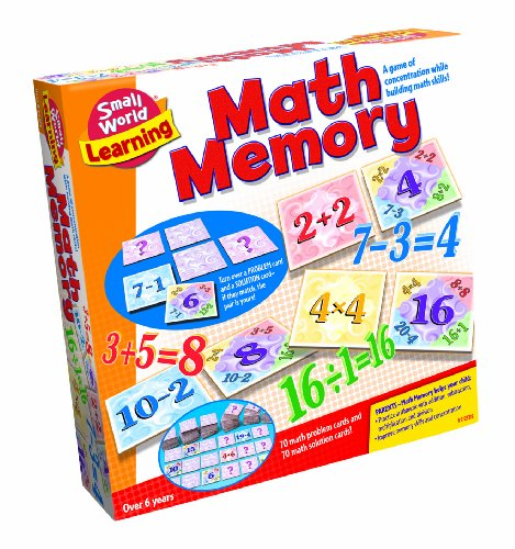 Small World Toys Learning - Math Memory Card Game