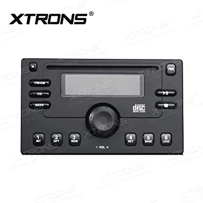 XTRONS Security Face Panel for Double Din Car DVD Player