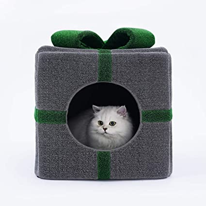 KGMYGS Cama Universal de Cuatro Estaciones para Gatos Casa de Gato ...