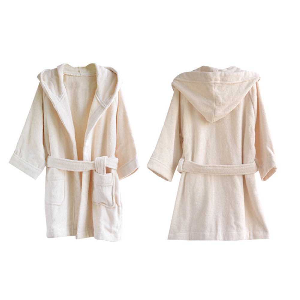 Songwol Cotton Hooded Bathrobe for Kids