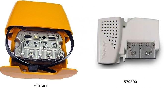 Kit preamplificador UHF (TNT) 30 dB con emparejamiento ...