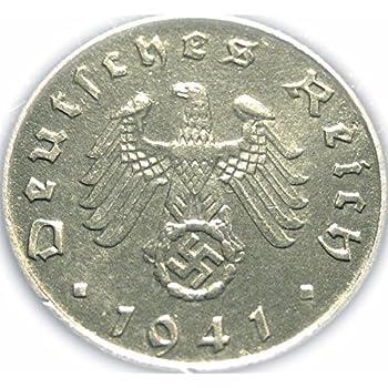 Amazon.com: German Third Reich – 1938 una moneda de diez ...