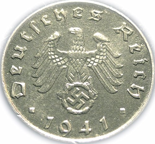 Nazi WWII Coin -- German 1940A (or Rarer Mint Mark and Date) 5  Pfennig