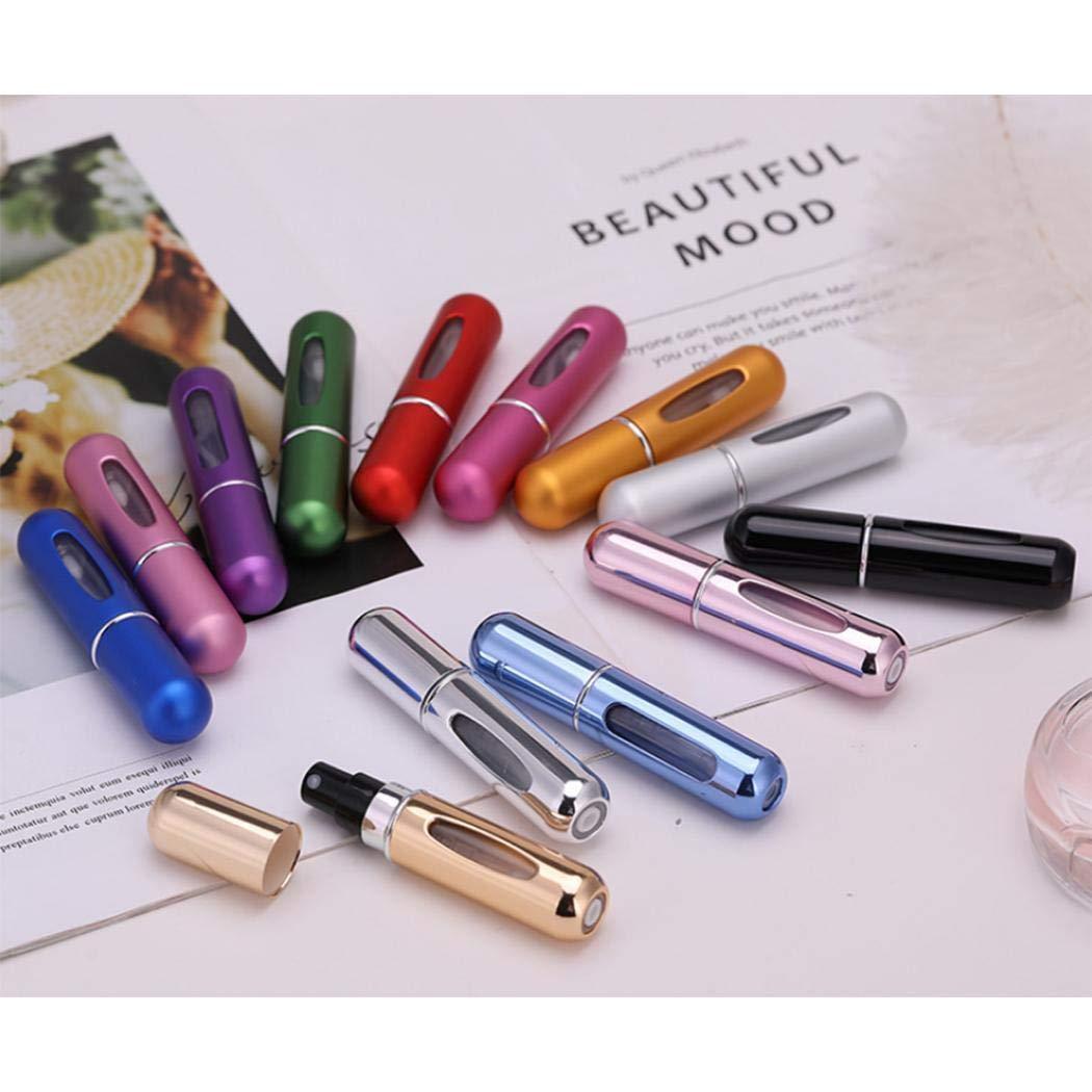 melysUS Travel Portable Mini Refillable Perfume Atomizer Bottle Scent Pump Spray Case Refillable Containers