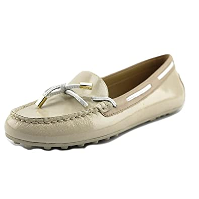 6aa4ae057aae5 Michael Michael Kors Womens Daisy Moc Leather Closed Toe, Ecru, Size 9.0