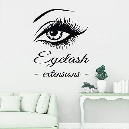 Extensiones de pestañas para los Ojos Tatuajes de Pared ...