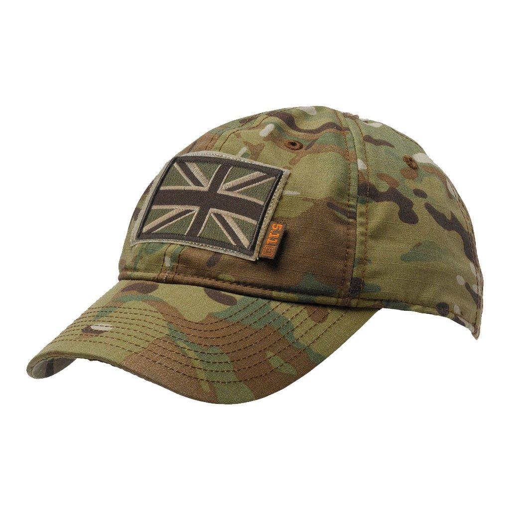 USA Patch + Hat Gadsden and Culpeper 5.11 Flag Bearer Cap Bundle