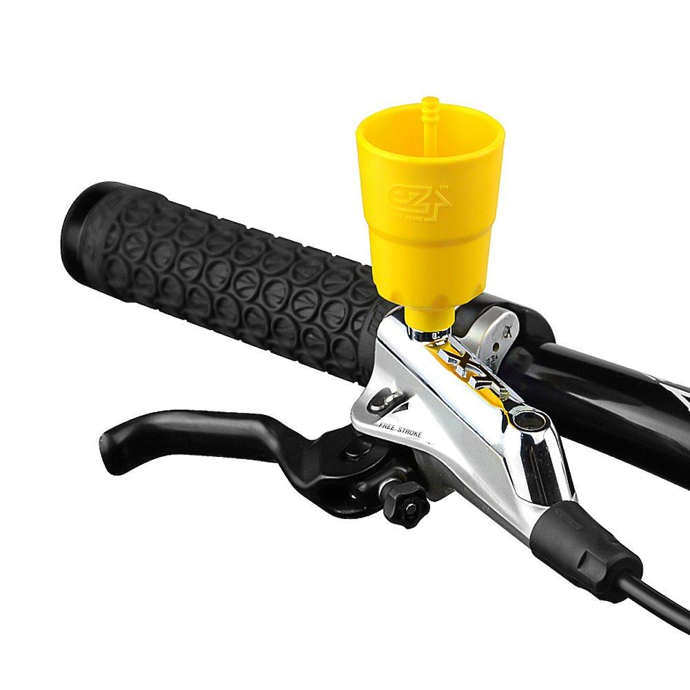 BIKEIN Master Hydraulic Disc Brake Bleeding Tool Kit For Mineral Oil & DOT Brake System MTB Repair Tools For SHIMANO MAGURA TEKTRO BENGAL ECHO AVID by BIKEIN (Image #6)
