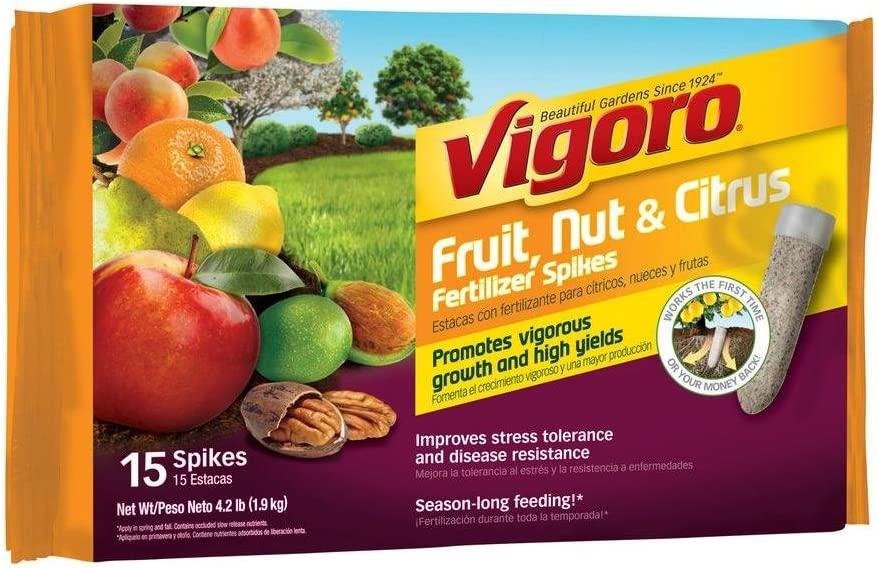 Vigoro 15 ct. Fruit, Nut and Citrus Fertilizer Spikes