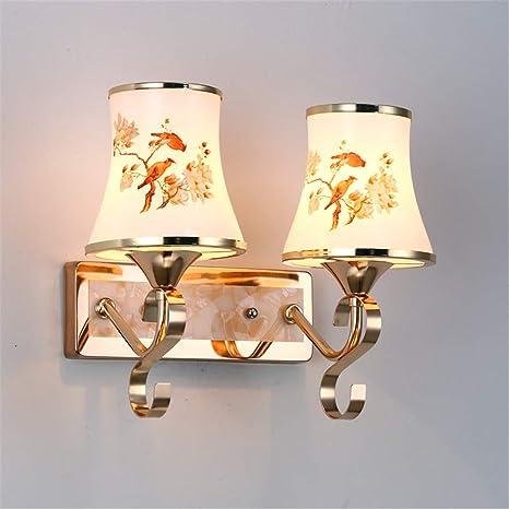 Amazon.com: Europa Lámparas de Pared Cristal LED Luces ...