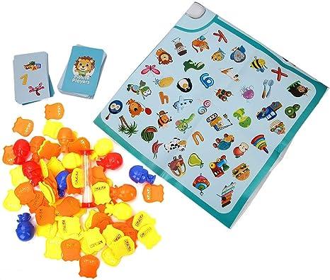Juego de mesa, Juego de ajedrez educativas Juego de entrenamiento Juego de desarrollo temprano Juegos educativos para niños: Amazon.es: Bebé