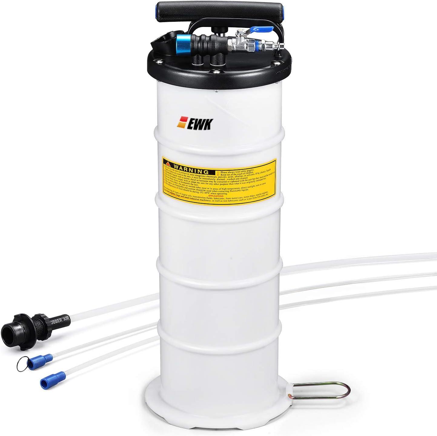 EWK Pneumatic / Manual 6.5L Oil Changer Vacuum Fluid Extractor Pump