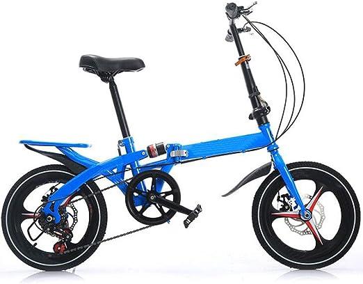 JBHURF Bicicleta para niños Bicicletas Plegables para niños y ...