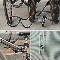 Candado de Bicicleta Seguridad Candado de Cable 5 Dígitos ...