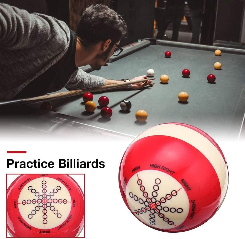 New Hu - Pelota de Snooker británica, Color Blanco y Rojo: Amazon ...
