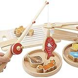 TheChoice 木のおもちゃ 釣り遊び おままごと お釣りごっこ 知育玩具 つりセット